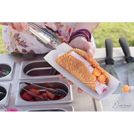 Chariot à glaces Ice Roll